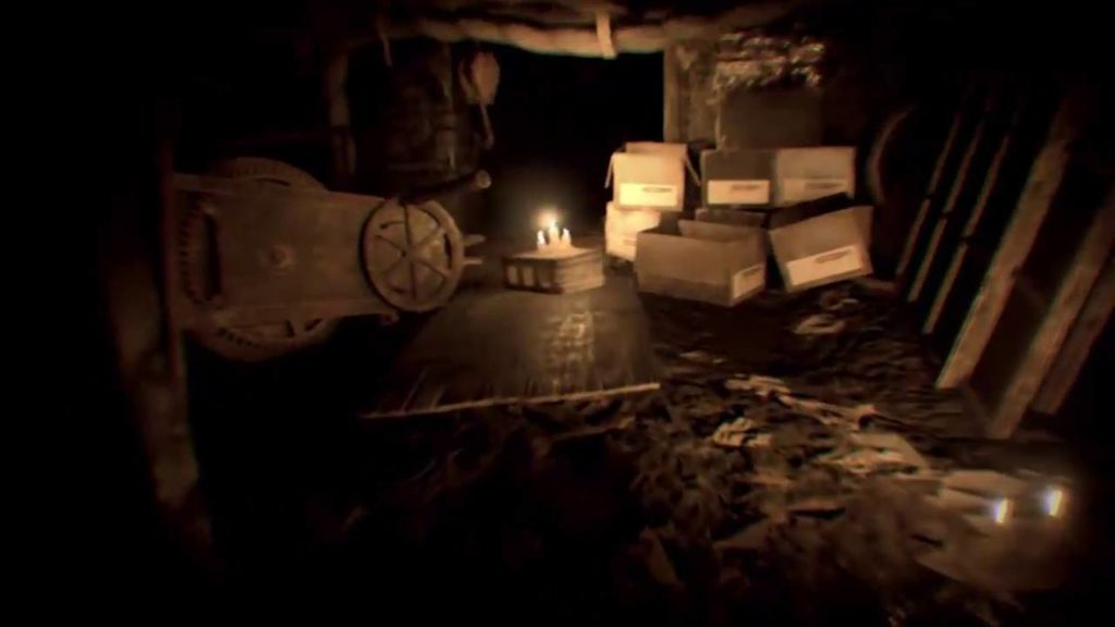 Resident Evil 7 Lantern Gameplay Easter Egg