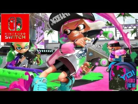 Splatoon 2 – Global Test Fire Full Menu Music