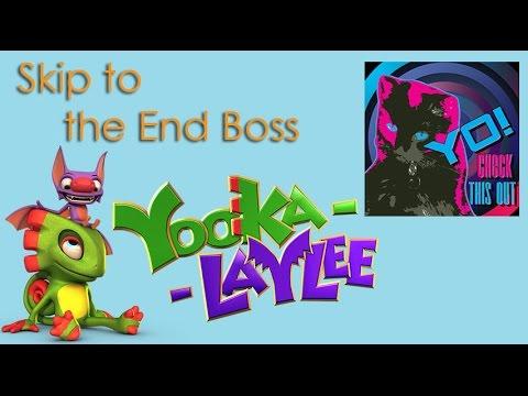Yooka Laylee – Skip to the End Boss Glitch