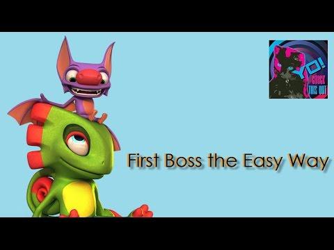 Yooka Laylee – Easy First Boss Method