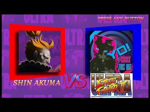 Ultra Street Fighter II – Shin Akuma Unlock