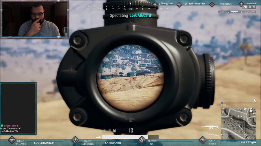 PUBG: Watching a Blatant Cheater