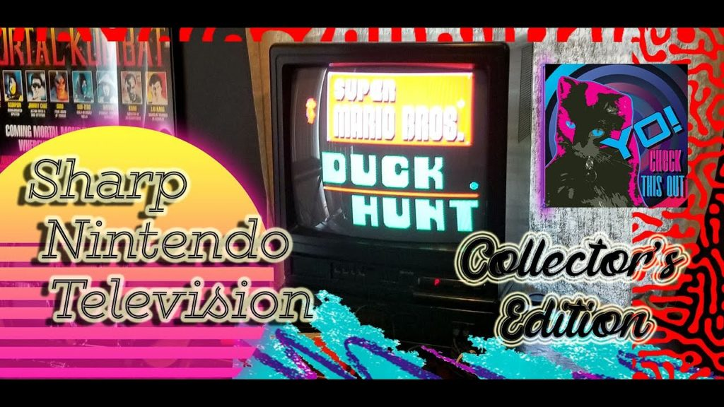 Collector's Edition – Sharp Nintendo Television