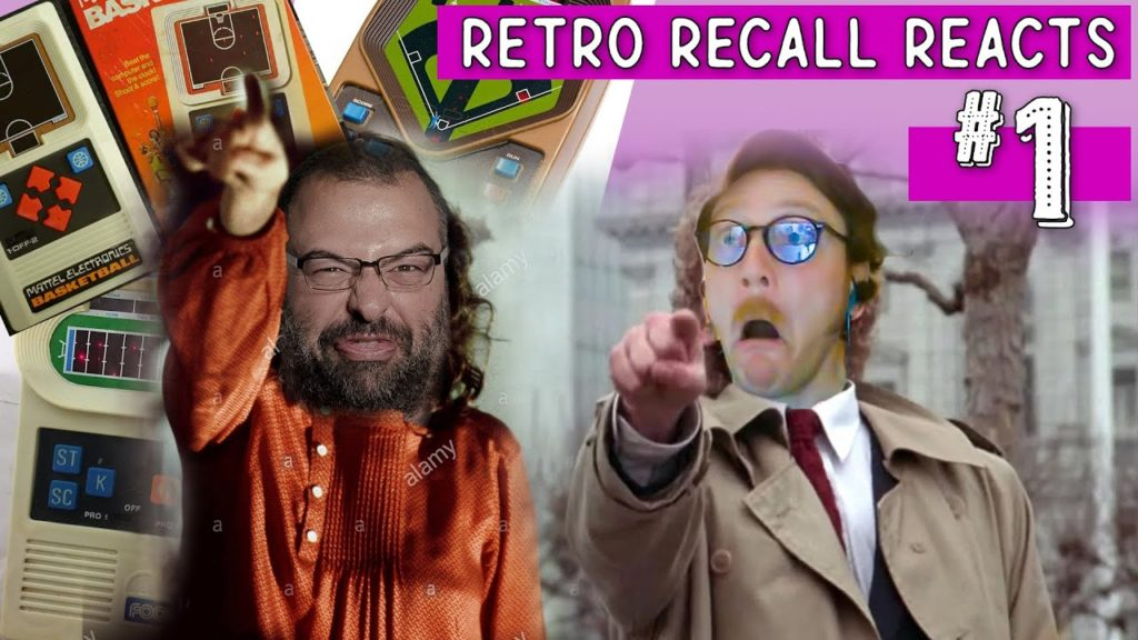 Retro Gamers React to Mattel Electronics Game Commercials