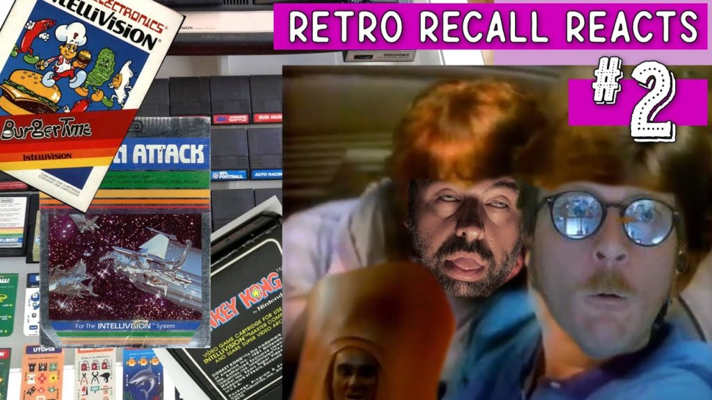 Retro Gamers React to Intellivision Game Commercials
