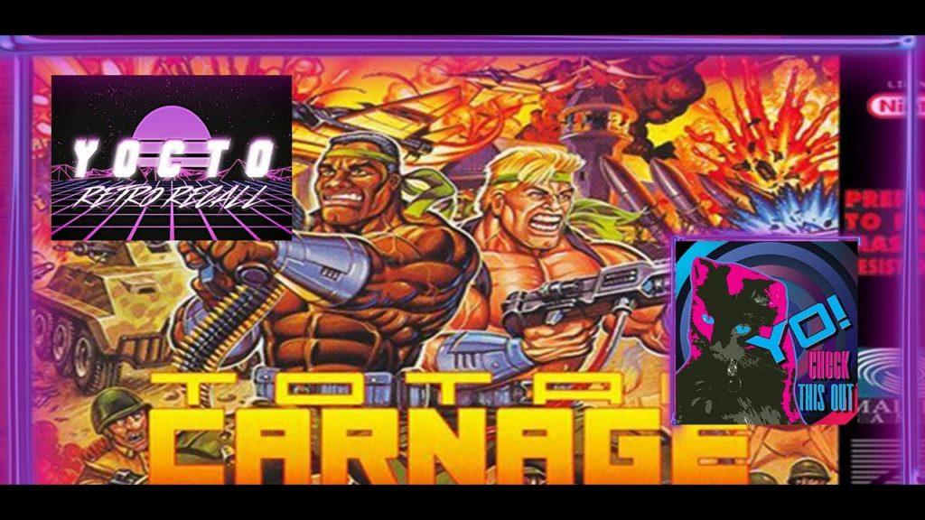 Retro Recall – (Ep. 67) Total Carnage (SNES)