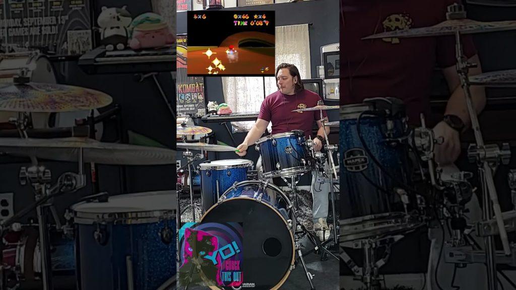 Drum Cover of Mario 64 Slide