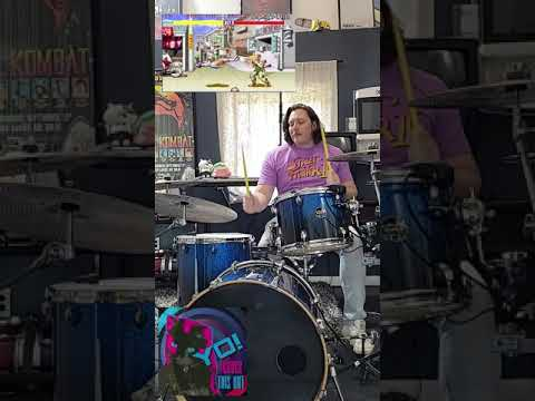 Drum Cover of Guile's Music from Street Fighter II