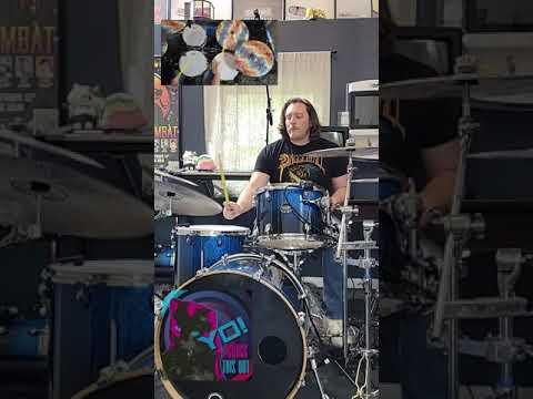Drum Cover Mega Man 2 Title Screen
